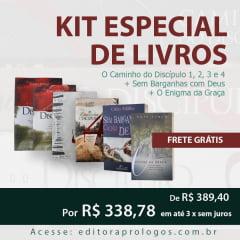 KIT ESPECIAL DE LIVROS CAIO FABIO